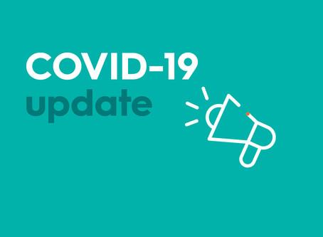 COMUNICAT - Servicii Divine si activitati incepand cu joi, 09.07.2020