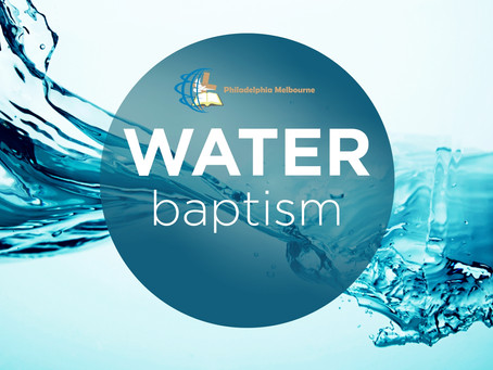 Botez Nou Testamentar - Martie 2020