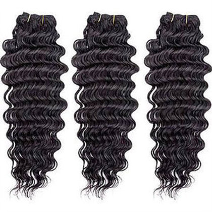 14 Inches: Deep Wave Weaving Hair