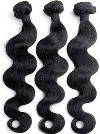 24 inches: Body Wave Weaving Hair