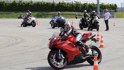 Donne in Moto corso Adria