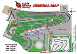 Adria international raceway map tracciato