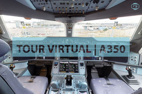 Tour Virtual Matterport | AIRBUS A350