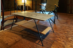 石板ローテーブル