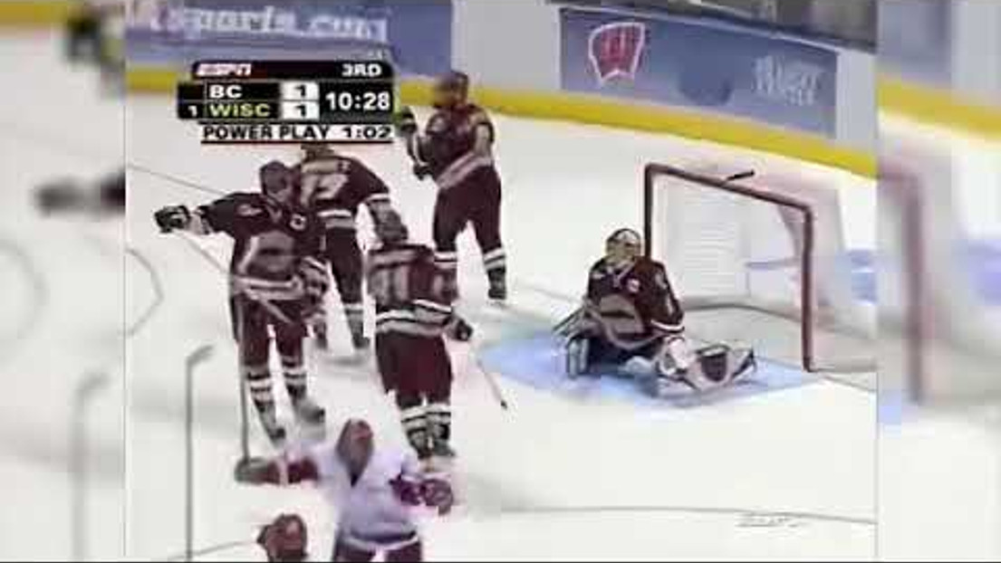 Tom Gilbert - NCAA National Championship Winning Goal