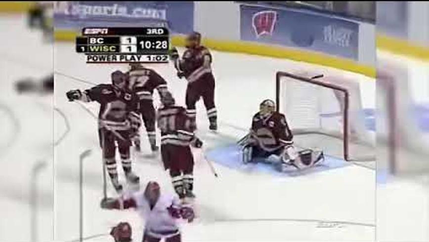 Tom Gilbert - NCAA National Championship Winning Goal