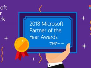 Microsoft 2018 Partner of the Year Award Winners