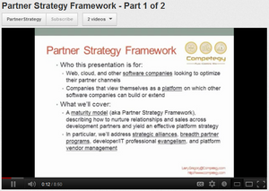 Partner Strategy Framework - YouTube Video