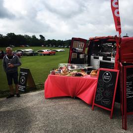 Mobile coffee van Cornwall