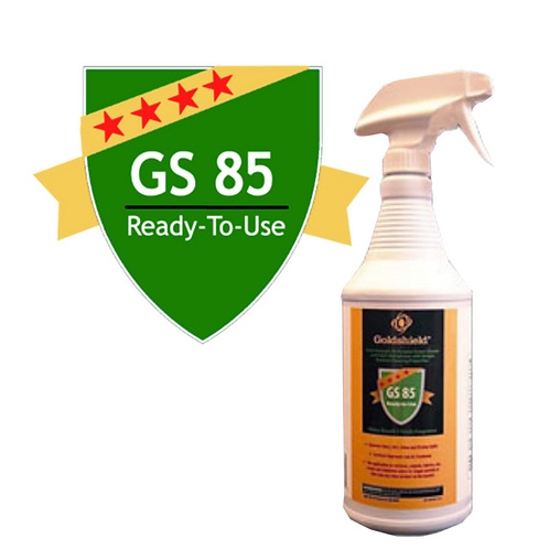 Goldshield GS 85 Surface Dirt/Grime Remover 4 oz Spray Bottle