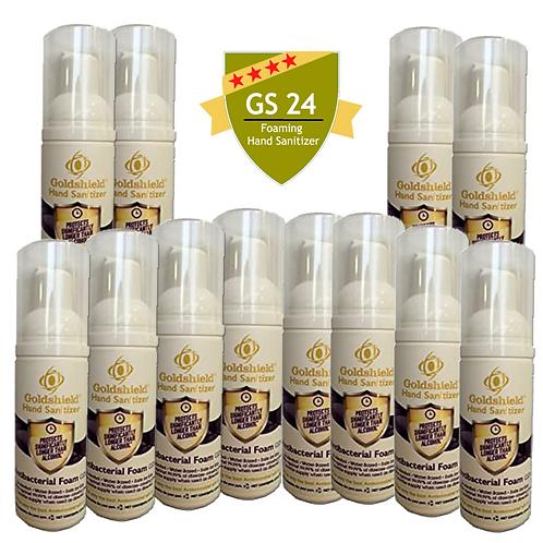 Goldshield GS 24 Hand Sanitizer (12) 2.58 oz Bottles
