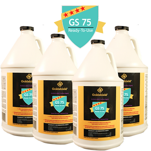 Goldshield GS 75 Surface Antimicrobial Ready to Use (4) 1 Gallon Refills