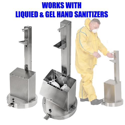Hand Sanitizer Dispenser with Foot Pump