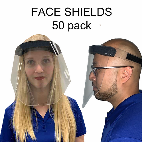 Face Shield Protection Mask (50 Mask)