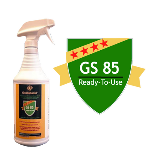 Goldshield GS 85 Surface Dirt/Grime Remover 32oz Spray Bottle
