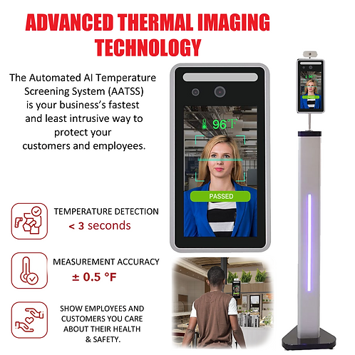 Automated AI Temperature Screening System