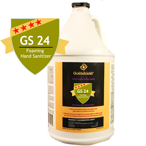Goldshield GS 24 Hand Sanitizer 1 Gallon Bottle Refill