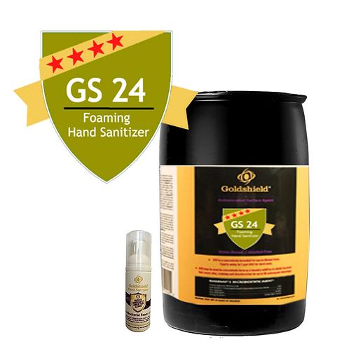 Goldshield GS 24 Hand Sanitizer 55 Gallon Drum
