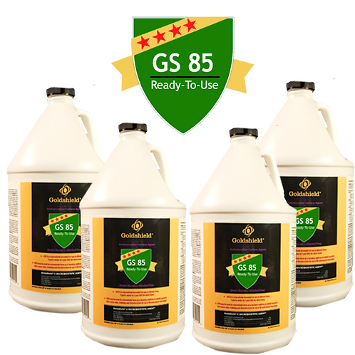 Goldshield GS 85 Surface Dirt/Grime Remover (4) 1 Gallon Bottles Refill