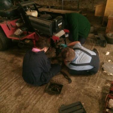 Law Mower Renovation in Mechanics