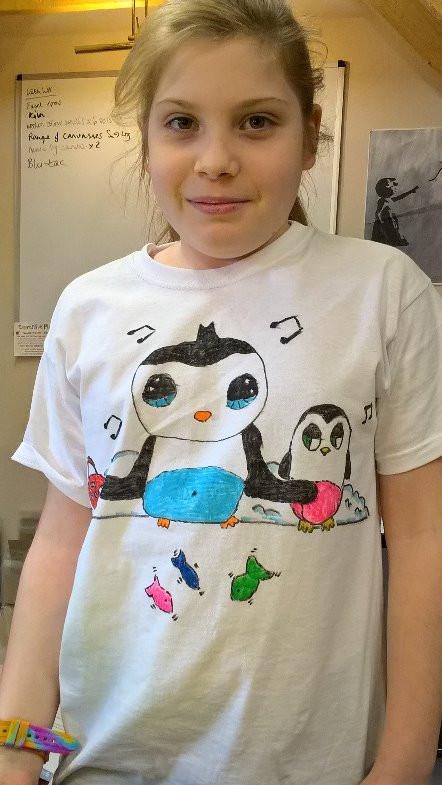 Cartoon T-Shirt Design