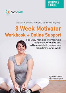 front cover - 8 week motivator + online