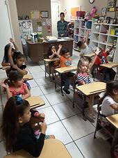 Visiting Kindergarten!