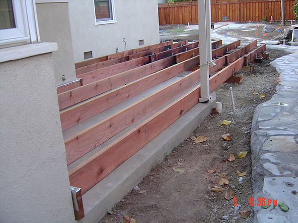 Sacramento Landscape Company Wood Deck in Land Park