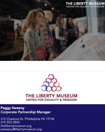 Liberty Museum Rebrand