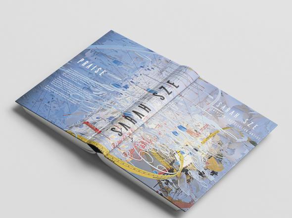 Book on Sarah Sze Cover
