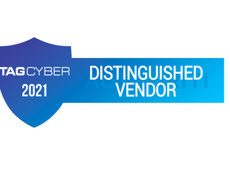 PRESS RELEASE - Authoriti Named 2021 TAG Cyber Distinguished Vendor