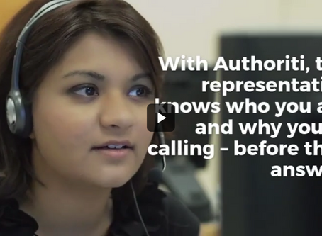 VIDEO - A Better Contact Center with the Authoriti Permission Code® Platform