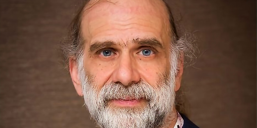 Webinar #1: Bruce Schneier - Securing a World of Physically Capable Computers