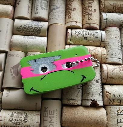Ninja Turtle keychain