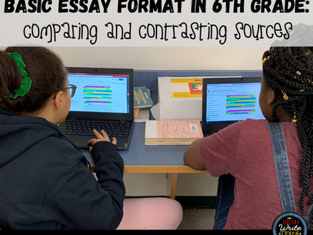 Essays in 6th Grade: A Basic Format that Elevates the Standard 5-Paragraph Structure