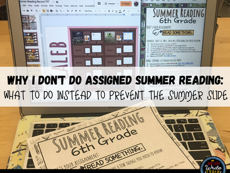 Free Choice Reading as a Summer Reading Requirement