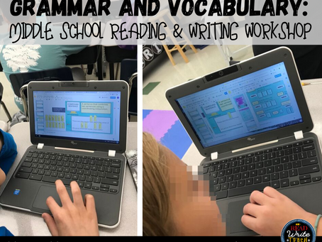 Grammar and Vocabulary in Middle School Reading/Writing Workshop