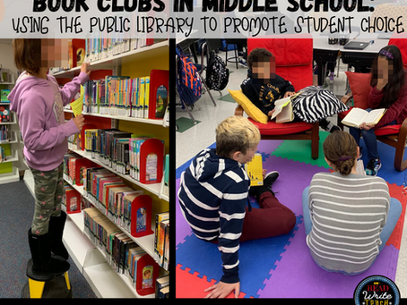 Book Clubs and Using the Public Library to Promote Student Choice