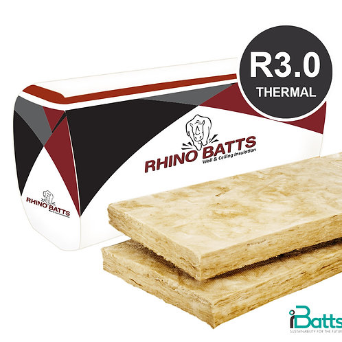 Rhino Brown Batts R3.0 Ceiling 430s