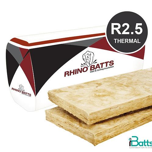 Rhino Brown Batts R2.5 Ceiling 580s