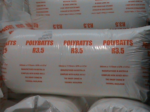 Polyester Solutions R3.5 POLYESTER BATTS 580S