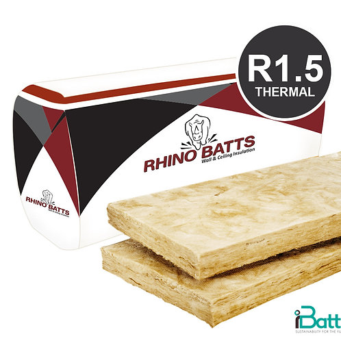 Rhino Brown Batts R1.5 430s Walls