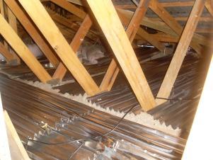 foil batts ceiling
