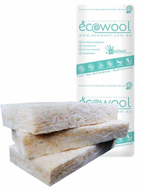 R3.0 Ceiling ECOWOOL GLASSWOOL BATTS 580S (ON SALE)