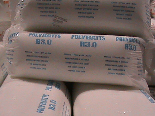 Polyester Solutions R3.0 POLYESTER BATTS 430S