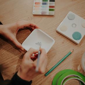 Initiation à la peinture sur céramique