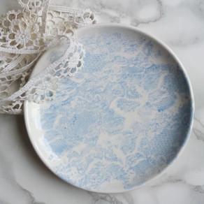 Tuto de peinture sur céramique : le motif dentelle