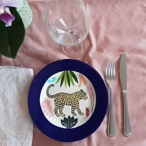 Petite assiette léopard