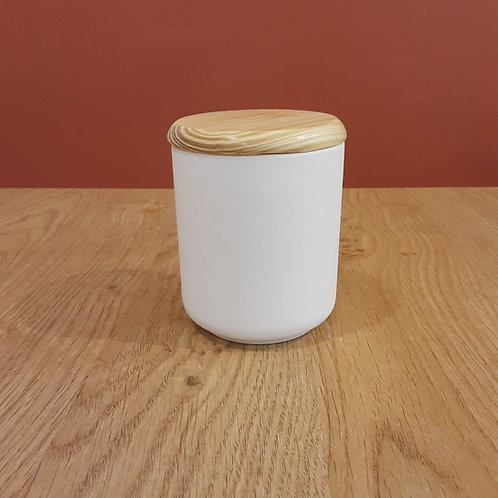 Boîte avec couvercle en bois