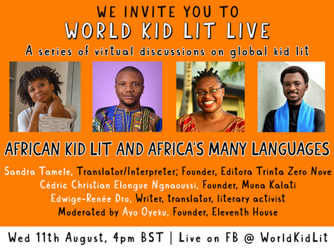 World Kid Lit Live – African Kid Lit & Africa's Many Languages